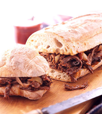 Smoky Brisket Sandwiches | Midwest Living