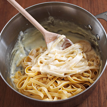 Fettucine Alfredo: Make the Takeout