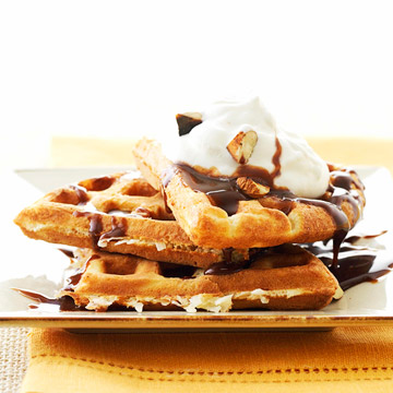 Breakfast for Dinner: Waffles Go Gourmet
