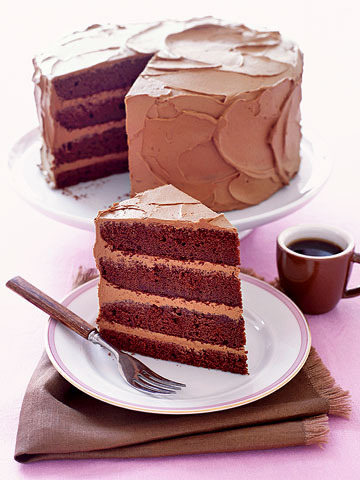 Devil's Food Layer Cake | Family Circle