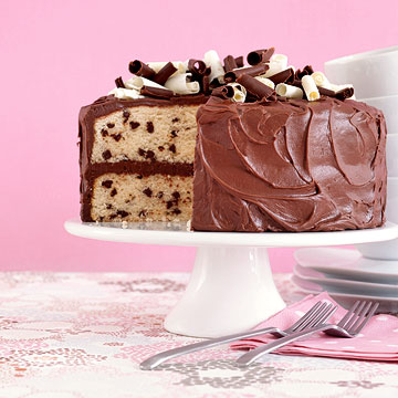 Recipe choc chip cake