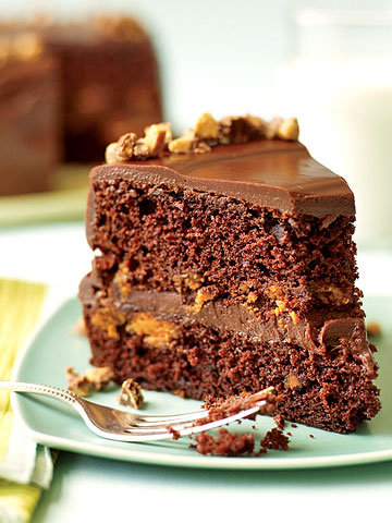 Peanut Butter Fudge Cake | Family Circle