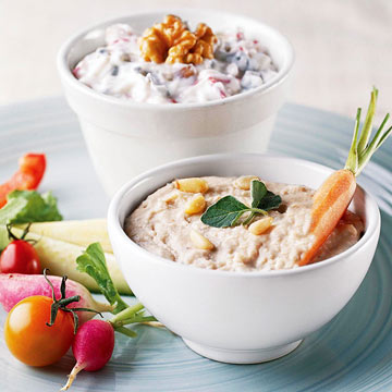 White Bean and Pine Nut Dip