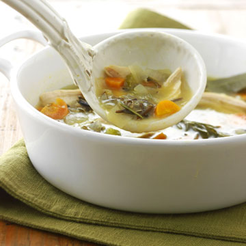 Slow-Cooker Wild Rcie Soup