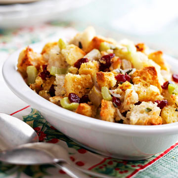 Cranberry-Apple Corn Bread Stuffing   Midwest Living