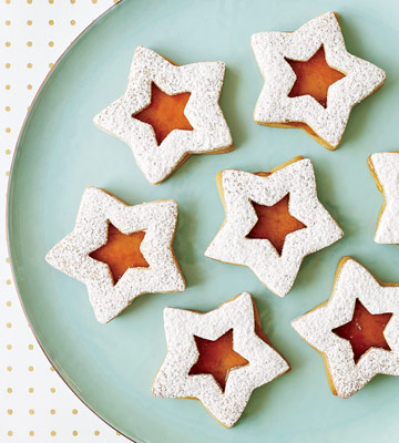 PB&J Linzer Stars | Family Circle