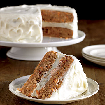 Cake with cream cheese icing recipe