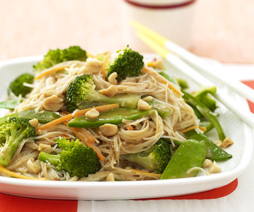 Asian Peanut Noodles | Family Circle