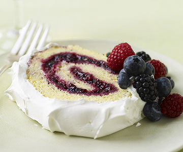Mixed-Berry Jelly Roll