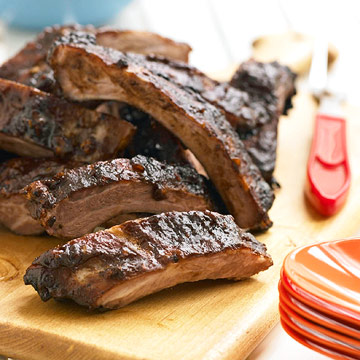 Barbecued Baby Back Ribs | Family Circle