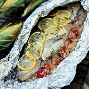 grilled whole whitefish midwest living On grill fish in foil