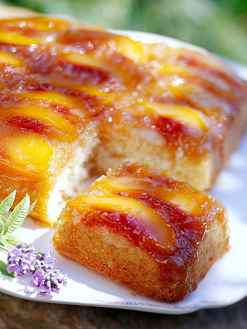 Peach Upside-Down Cake | Midwest Living