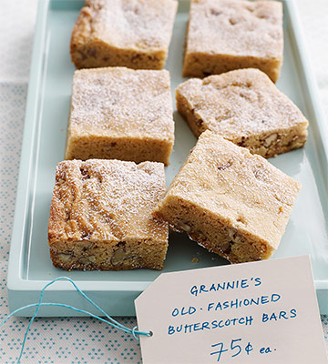 Grannie's Old-Fashioned Butterscotch Bars