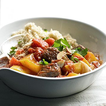 Aromatic Beef Stew with Butternut Squash