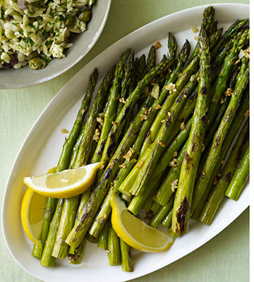 Roasted Asparagus with Garlic
