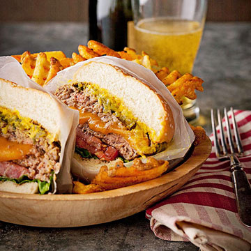 Juicy Lucy Burger Midwest Living