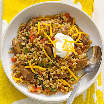 Mexican Brown Rice Casserole