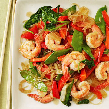 Sweet & Spicy Shrimp Stir-Fry | Family Circle