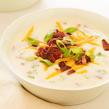 Slow-Cooker Baked Potato Soup