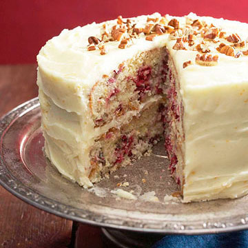 Dried Cranberry Cake Recipe