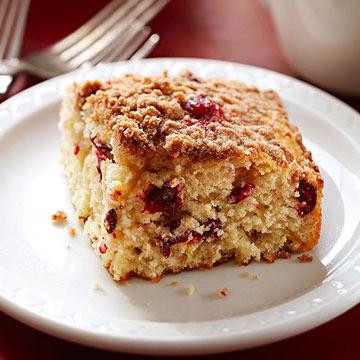Cranberry Streusel Coffee Cake | Midwest Living