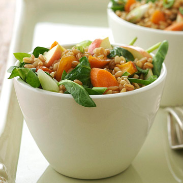 Winter Wheat Berry Salad