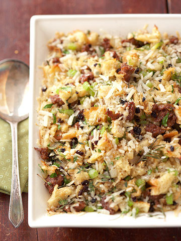 Parmesan Cheese and Italian Sausage Stuffing | Midwest Living