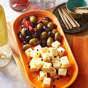 Marinated Cheese Cubes Midwest Living