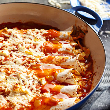 Pulled Pork Enchiladas