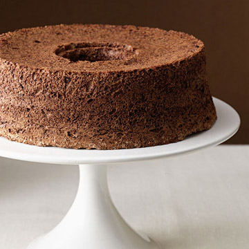Chocolate Angel Food Cake | Family Circle