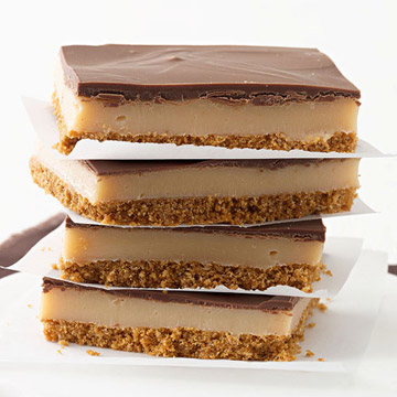 Chocolate Dulce De leche Bars