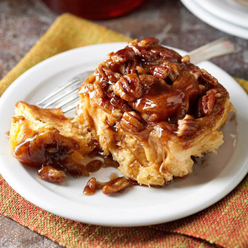 Maple-Sweet Potato Sticky Buns | Midwest Living