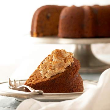 Spiced Sweet Potato Cake With Maple Whipped Cream Cheese Midwest