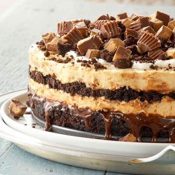 Peanut Butter Buckeye Brownie Cheesecake Midwest Living