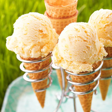Peach Ice Cream | Midwest Living