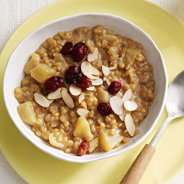 Apple-Cinnamon Wheat Berries