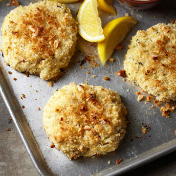 Hazelnut fish cakes midwest living for Old fashioned cod fish cakes