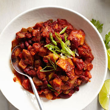 Autumn Root Vegetable Chili