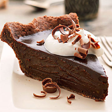 Double Chocolate Espresso Truffle Pie Midwest Living