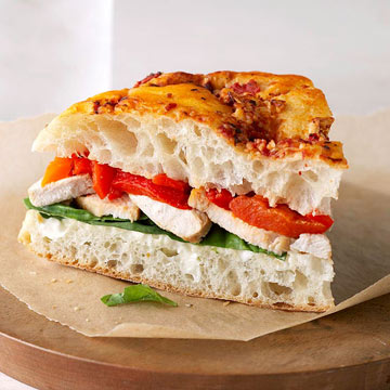 Chicken Focaccia Bread Sandwiches | Midwest Living