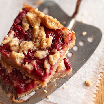 Cherry Crumble Pie Bars | Midwest Living
