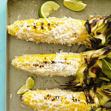 Caribbean-Style Grilled Corn