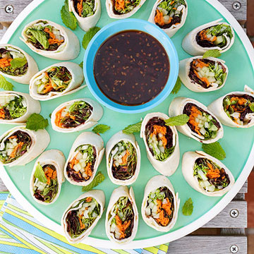 Vietnamese Vegetable Pinwheels