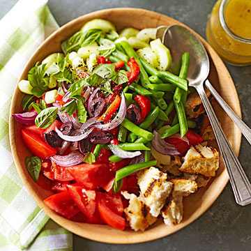 Panzanella (Bread Salad) with Summer Vegetables   Midwest Living