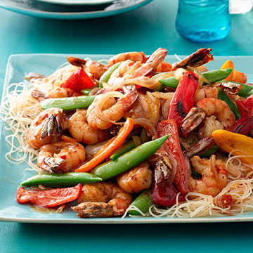Shanghai Shrimp Stir-Fry