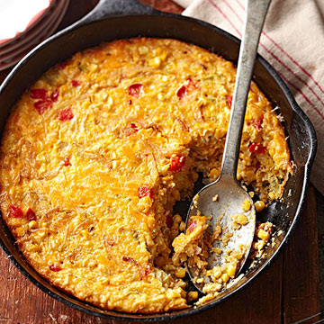 Southwest corn pudding midwest living for Different ideas for xmas dinner