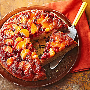 Cranberry Orange Upside Down Cake | Midwest Living