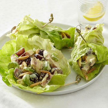 Curry Chicken Salad Lettuce Wraps | Diabetic Living Online