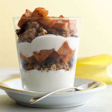 Apple-Cinnamon Parfaits