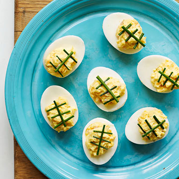 Game-Day Deviled Eggs